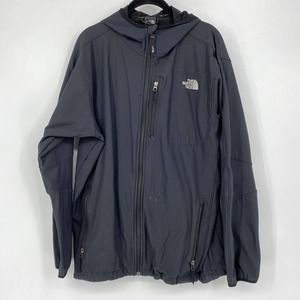 The North Face Black Apex Hooded Full Zip Jacket